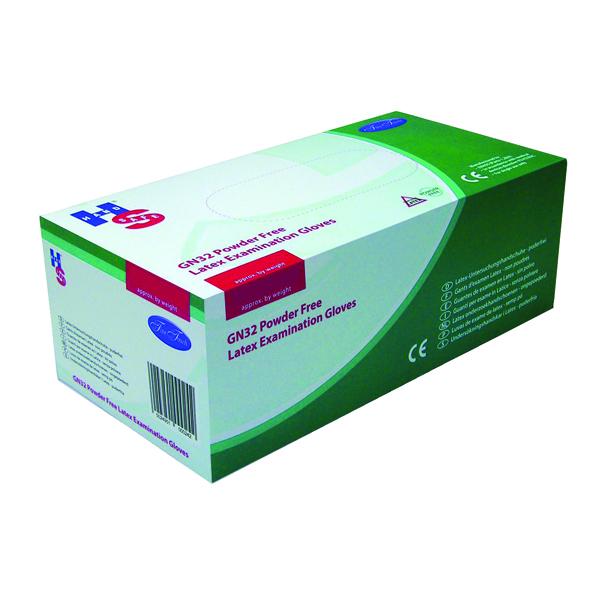 Handsafe Powder-Free Natural Latex Large Gloves (100 Pack) GN32