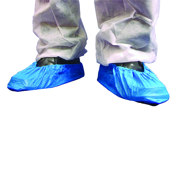 Shield Overshoes 16 Inch Blue (2000 Pack) DF01/16