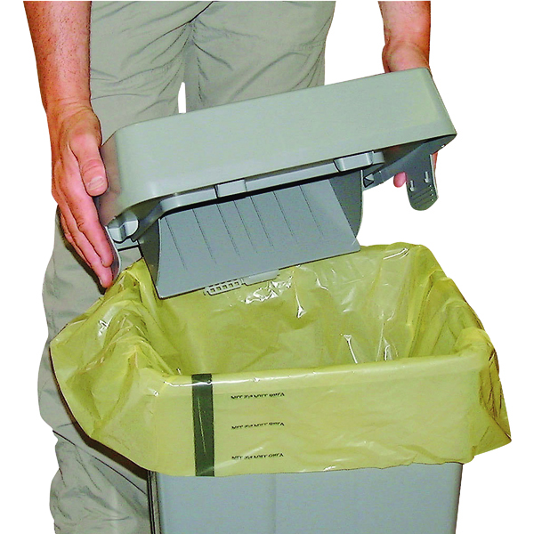 Binliner/Bags Clinical Waste Sack For Landfill Medium Duty Yellow (250 Pack) FAYB/5