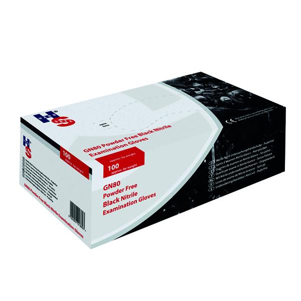 Speciality Black Nitrile Medium Gloves (100 Pack) GL897