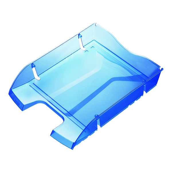 Letter Tray Helit Blue PET Recycled Letter Tray H2363530