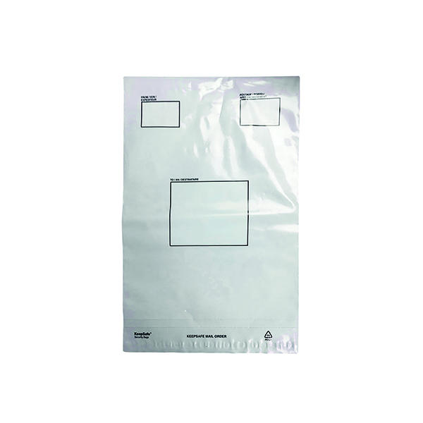Strong Polythene Mailing Bag 235x320mm Opaque (100 Pack) HF20209