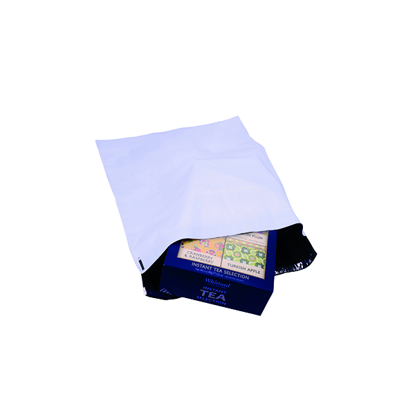 Strong Polythene Mailing Bag 400x430mm Opaque (100 Pack) HF20212