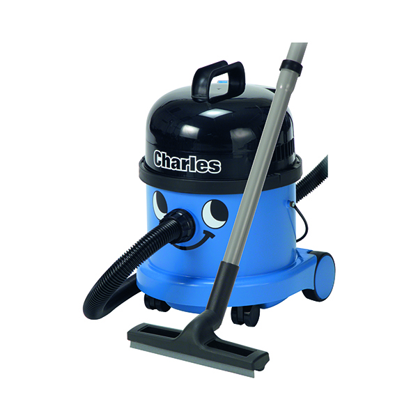 Vacuum Cleaners & Accessories Numatic Charles Wet and Dry Vacuum Cleaner Blue CVC370