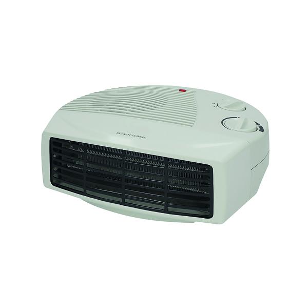 Fan Heaters 2kW Flat Fan Heater White CRHFF06/H