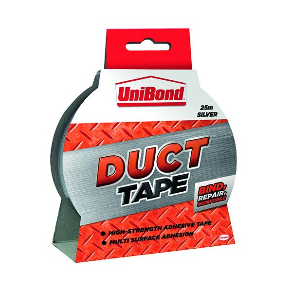 UniBond Silver 50mmx25m Duct Tape 1667753