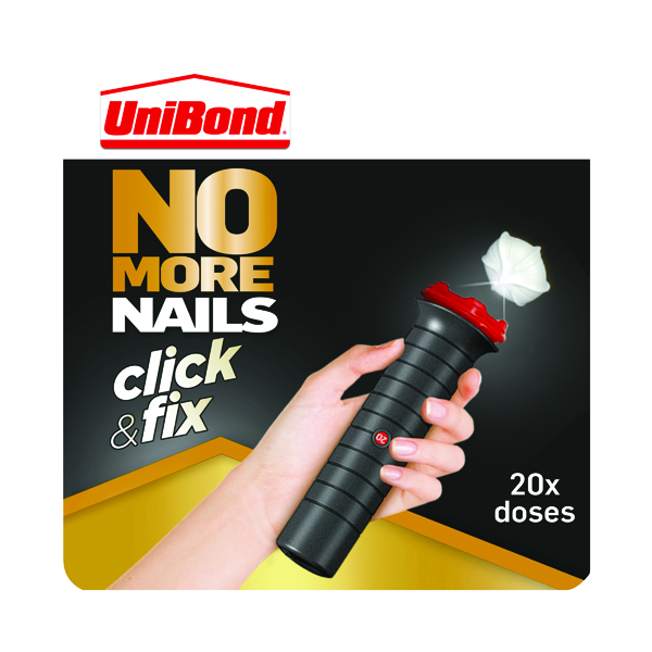Strong Glues Unibond No More Nails Click n Fix 30gm 2312989