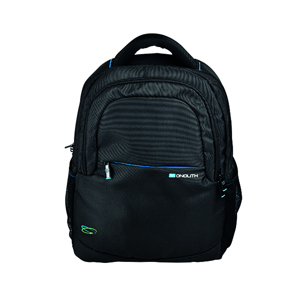 Briefcases & Luggage Monolith Blue Line 15.6 Inch Laptop Backpack 3312