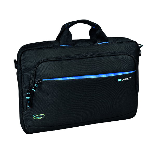 Briefcases & Luggage Monolith Blue Line 15.6 Inch Laptop Briefcase 3314