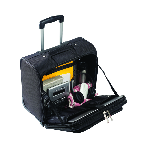 Briefcases & Luggage Monolith Executive Mobile Laptop Case W410 x D260 x H350mm Black 3005