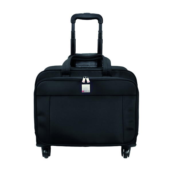 Briefcases & Luggage Motion II 4 Wheel Laptop Trolley Case W445 x D230 x H320mm Black 3208