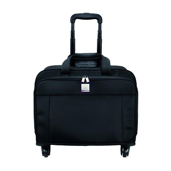 Motion II 4 Wheel Laptop Trolley Case Black 3208