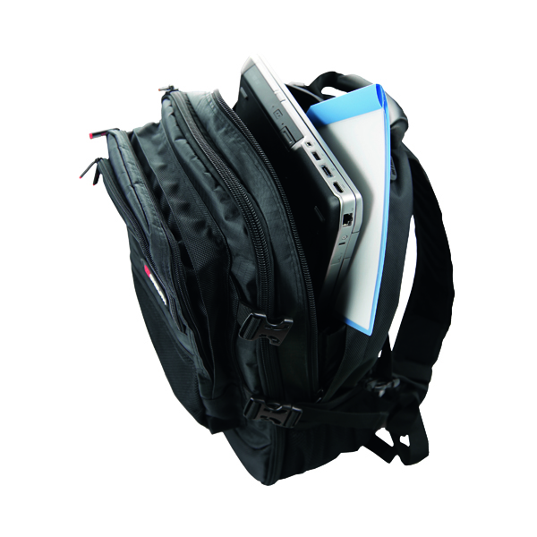 Briefcases & Luggage Monolith Premium Laptop Backpack W340 x D220 x H440mm Black 9106
