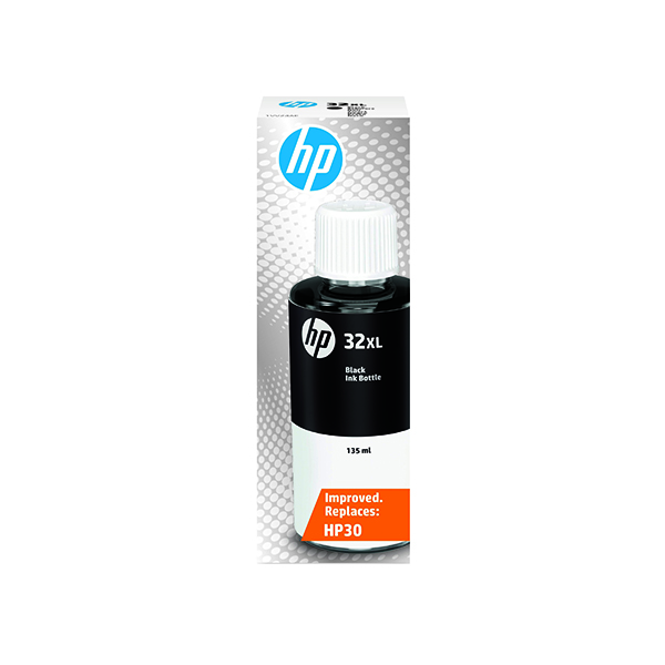 Laser Toner Accessories HP 32 Black Original Ink Bottle 1VV24AE
