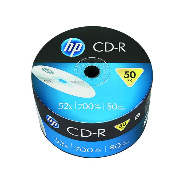 CD HP CD-R 52X 700MB Wrap (50 Pack) 69300