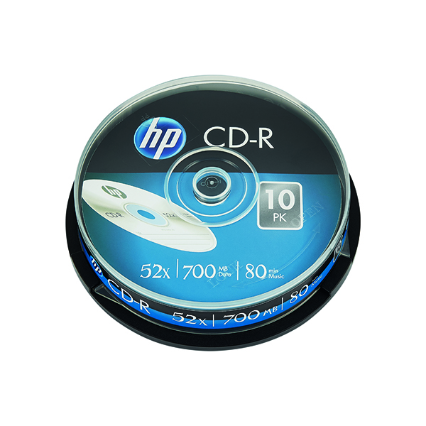 CD HP CD-R 52X 700MB Spindle (10 Pack) 69308