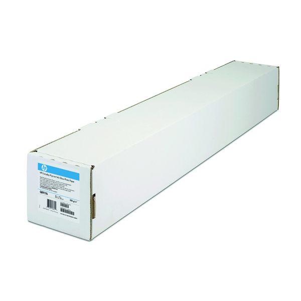 HP White Heavyweight 1067mm Coated Paper Roll C6569C