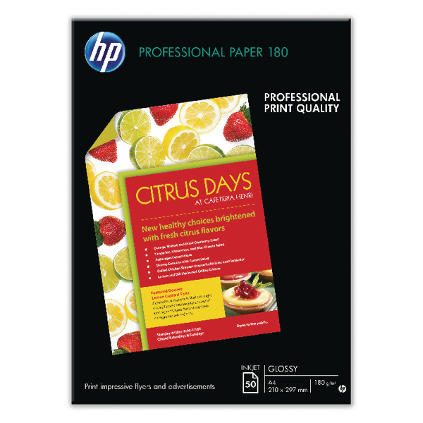 Other Size HP Professional Glossy A3 Inkjet Paper (50 Pack) C6821A