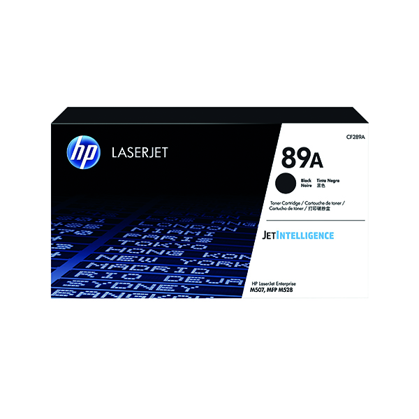Laser Toner Accessories HP 89A Black LaserJet Toner Cartridge CF289A