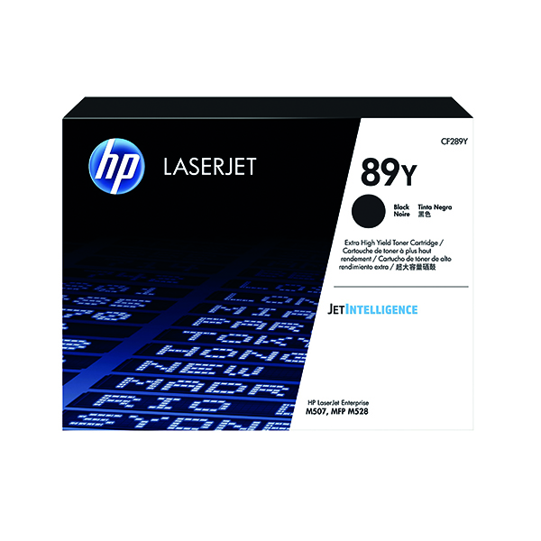 Laser Toner Accessories HP 89Y Black LaserJet Toner Cartridge CF289Y