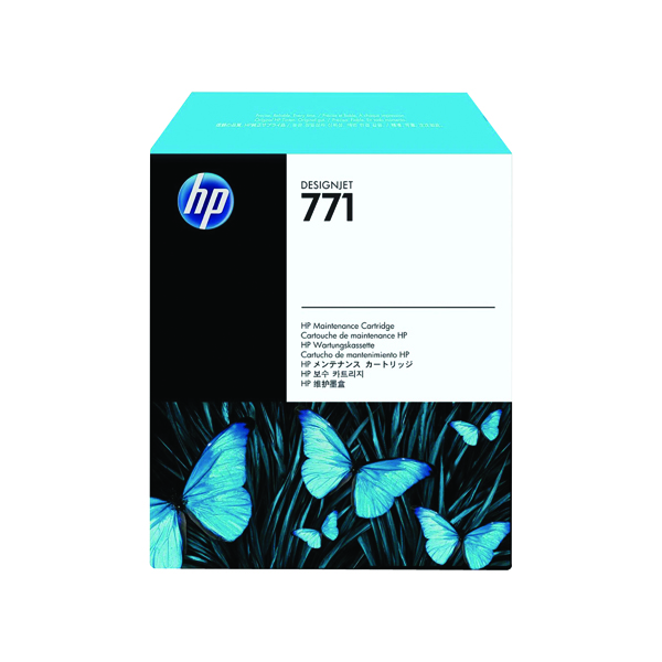 Unspecified HP 771 Design Jet Maintenance Cartridge CH644A