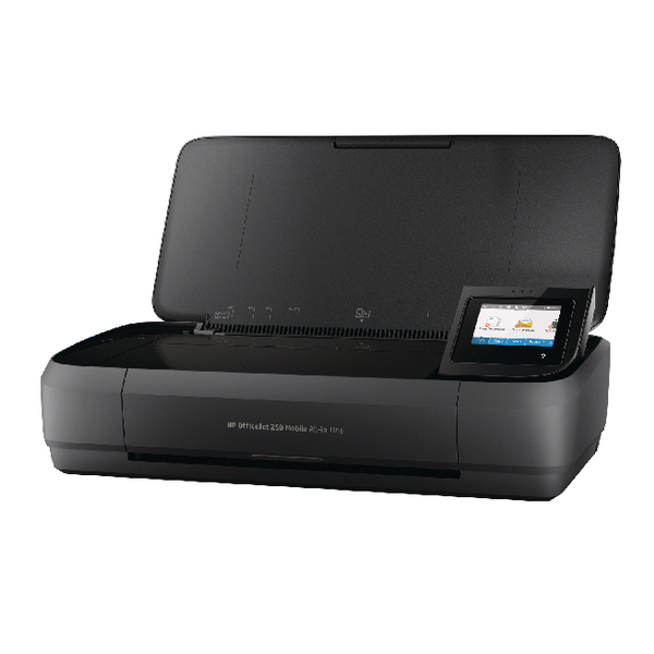 Inkjet Printers HP Officejet 250 Mobile All-in-one Printer Black CZ992A