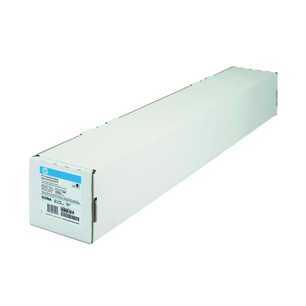 Unspecified HP White Universal Bond Paper 610mm Continuous Roll 80gsm Q1396A