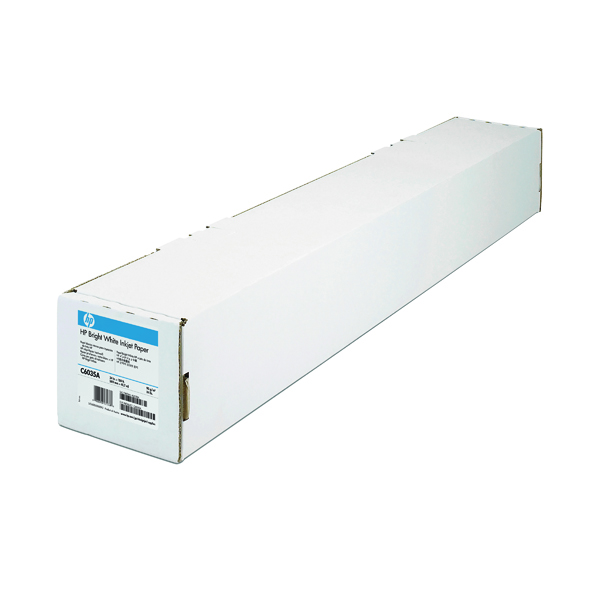 HP Bright White Inkjet Paper 841mm x 45.7m Q1444A