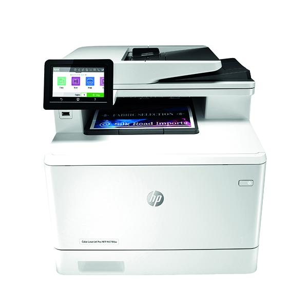 HP Color LaserJet Pro MFP M479fdw Laser Printer W1A80A#B19