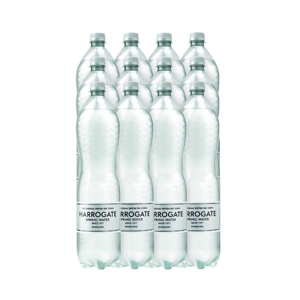 Cold Drinks Harrogate Sparkling Spring Water 1.5 Litres (12 Pack) P150122C