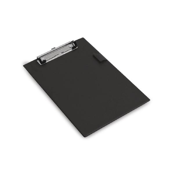 Rapesco Standard Clipboard PVC A5 Black 1072