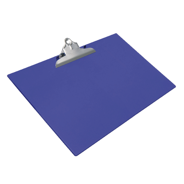 A3 Size Rapesco Heavy Duty Clipboard A3 Blue 1136