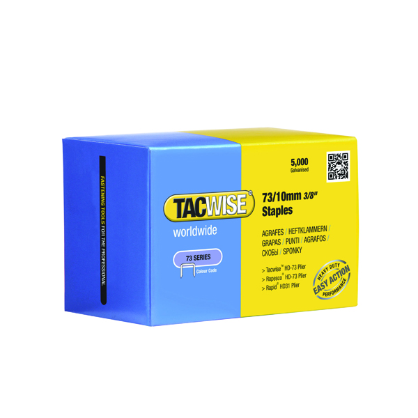 6mm Rapesco 73/10mm Staples (5000 Pack) 0456