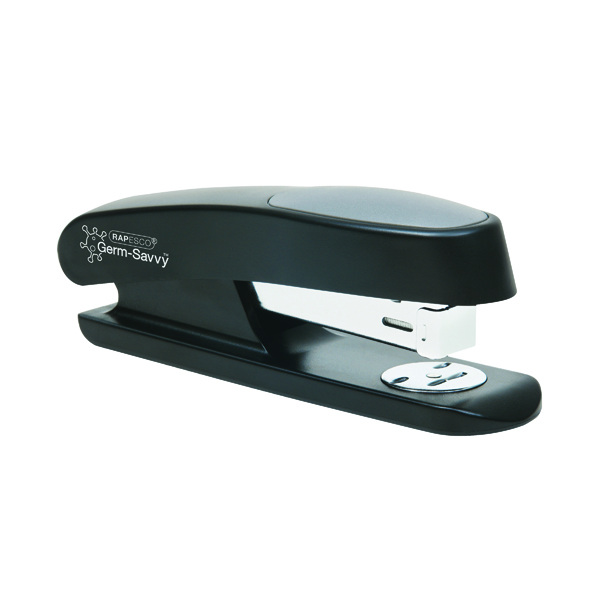 Desktop Staplers Rapesco Sting Ray Half Strip Stapler Black R72660B3
