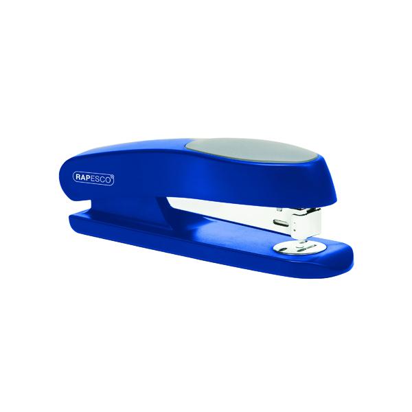 Desktop Staplers Rapesco Manta Ray Full Strip Stapler Blue RP9260L3