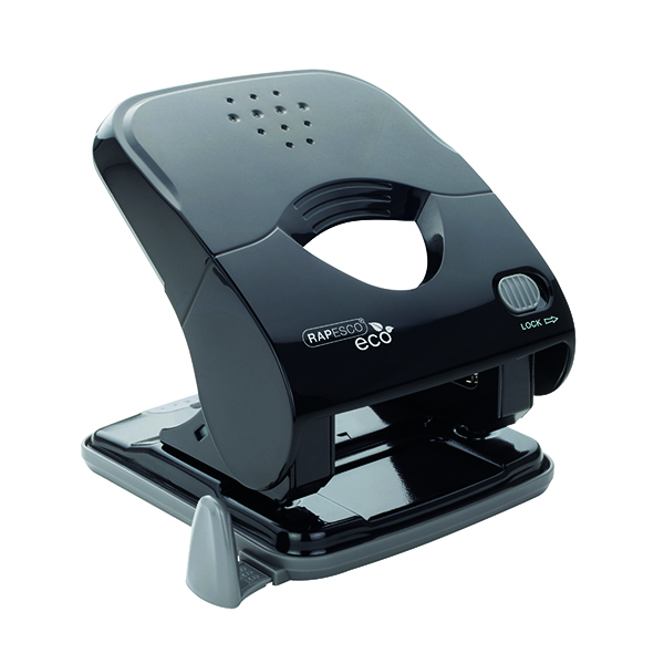 Unspecified Rapesco ECO X5-30ps Less Effort 2 Hole Punch Black 1523