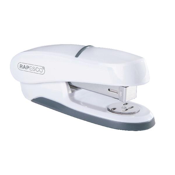 Rapesco P20 Shimma Half Strip Stapler White 1273