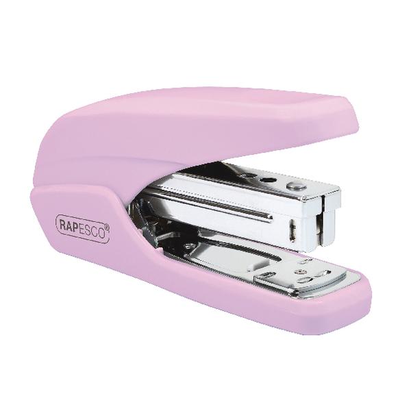 Desktop Staplers Rapesco X5-25ps Less Effort Stapler Candy Pink 1339