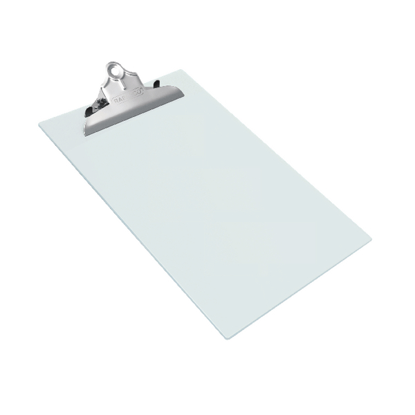 Unspecified Rapesco Heavy Duty Clipboard Frosted Foolscap Transparant 0888