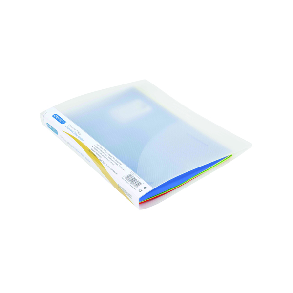 Other Sizes Rapesco 15mm 2 Ring Binder A4 Plus Clear (10 Pack) 0923