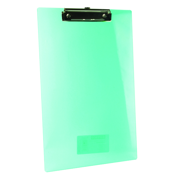 Rapesco Frosted Transparent Clipboard Single SHPPCBAS