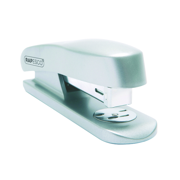 Desktop Staplers Rapesco Skippa Full Strip Stapler Silver RES260C1