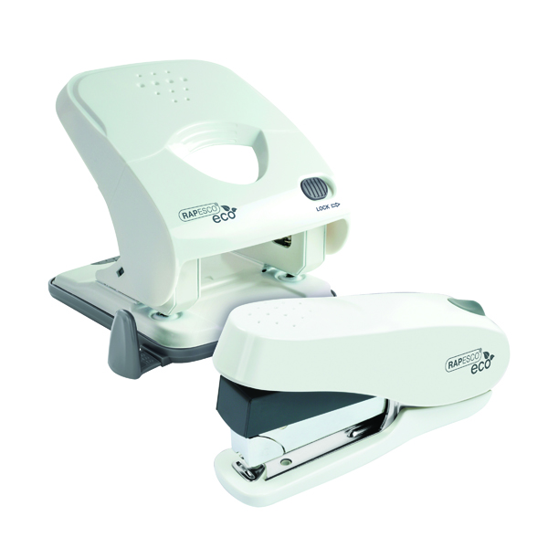 Rapesco ECO X5-40ps Hole Punch with ECO Stapler 1/2 Price HT810936