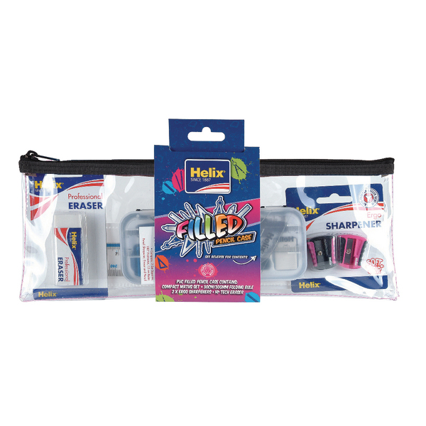 Helix Filled Pencil Case (6 Pack) HX1638