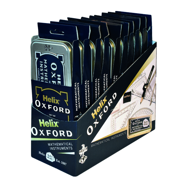 Geometry, etc Helix Oxford Maths Set (10 Pack) 170505