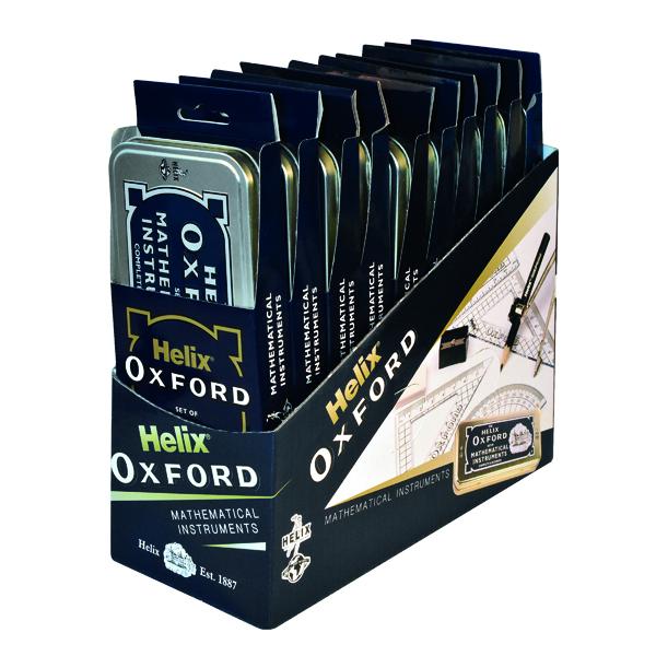 Helix Oxford Maths Set (10 Pack) 170505