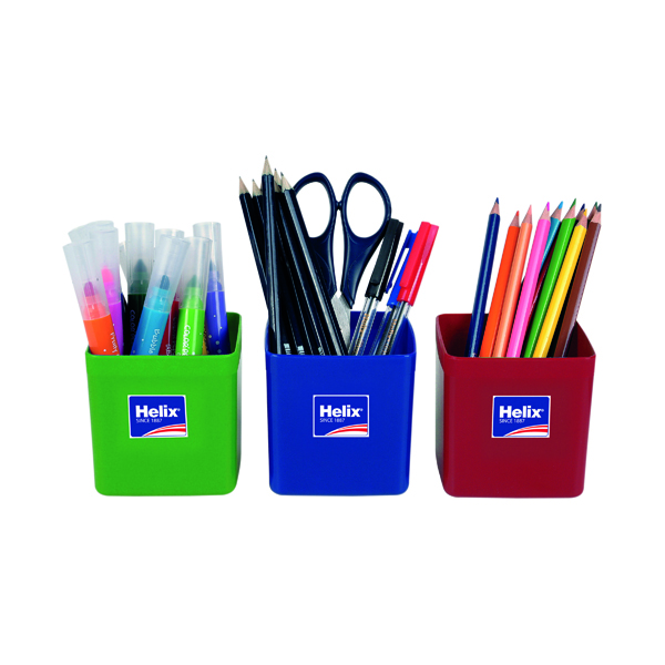 Cup Helix Pencil Pots Assorted (12 Pack) 753810