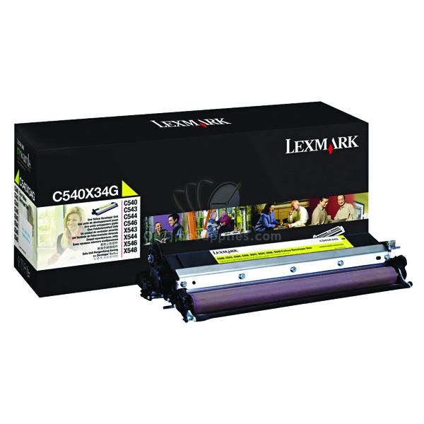 Lexmark Yellow Developer Unit C540X34G
