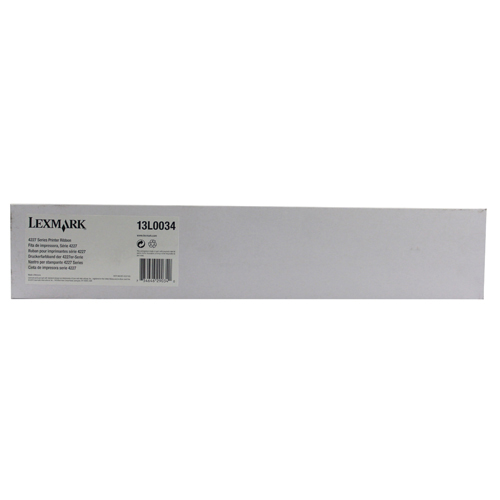 Unspecified Lexmark Black Fabric Ribbon 4227/4227 Plus 13L0034