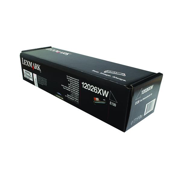 Unspecified Lexmark Black E120 Photoconductor Kit 12026XW